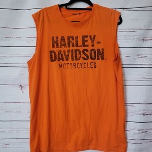 Harley Davidson sleeveless t shirt Grand Canyon
